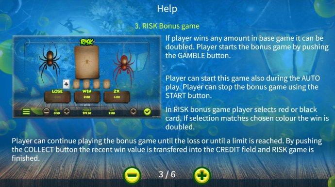 Risk Bonus Game Rules - No Deposit Casino Guide