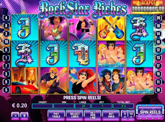 Rockstar Riches by No Deposit Casino Guide