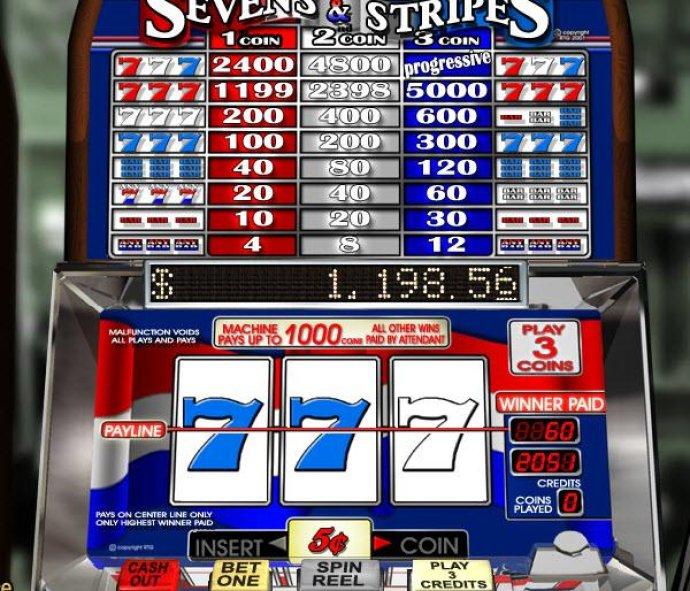 Sevens & Stripes by No Deposit Casino Guide