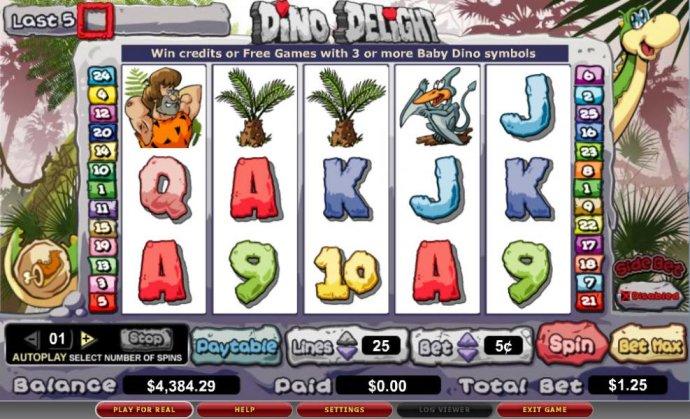 Dino Delight screenshot
