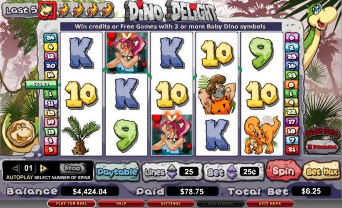 Dino Delight by No Deposit Casino Guide