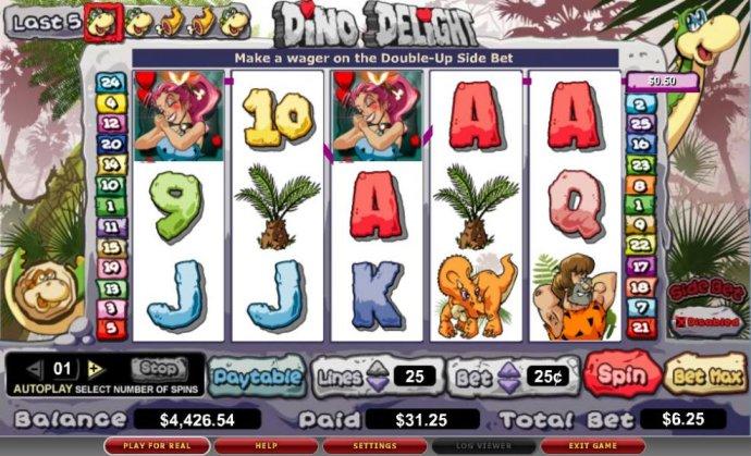 No Deposit Casino Guide image of Dino Delight