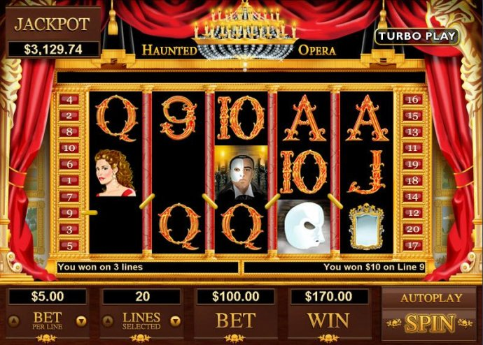 No Deposit Casino Guide image of Haunted Opera
