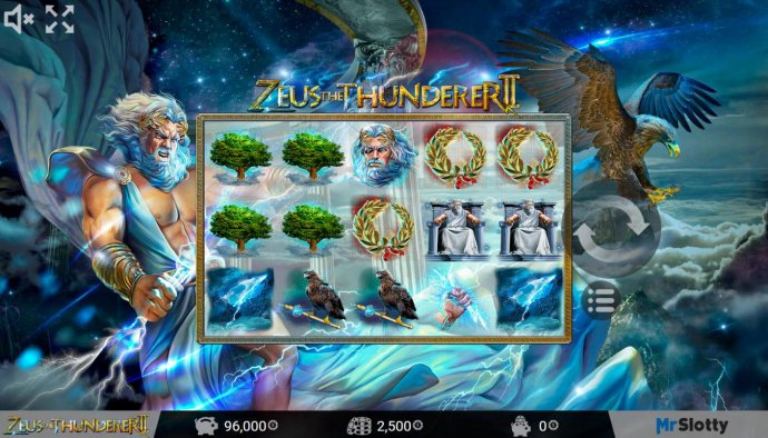 Zeus the Thunderer II by No Deposit Casino Guide