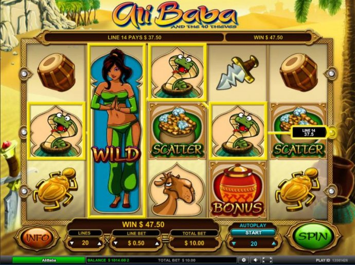 No Deposit Casino Guide image of Ali Baba
