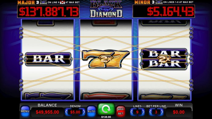 Black Diamond by No Deposit Casino Guide