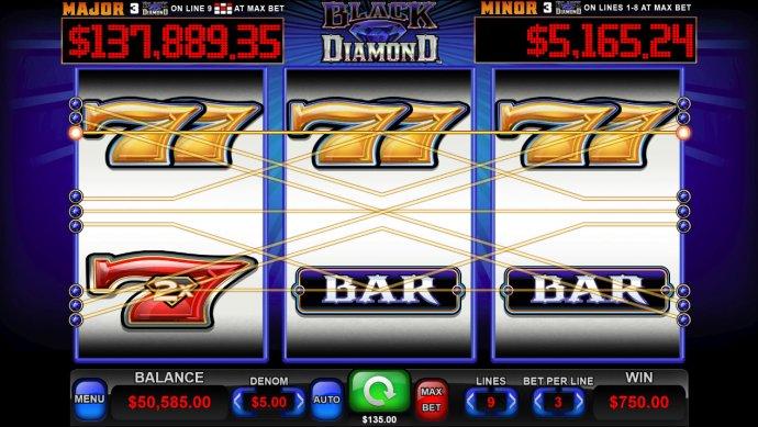 No Deposit Casino Guide image of Black Diamond