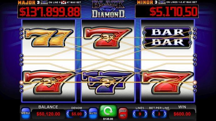 Black Diamond screenshot