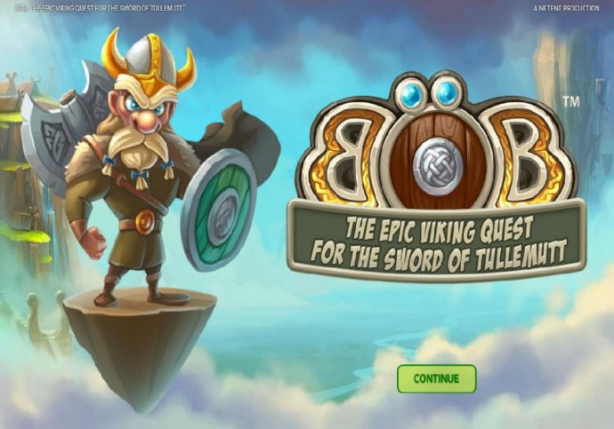 No Deposit Casino Guide - Splash screen - game loading - Based on a Viking theme.