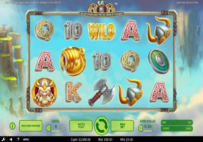 No Deposit Casino Guide image of Bob The Epic Viking Quest for the Sword of Tullemutt