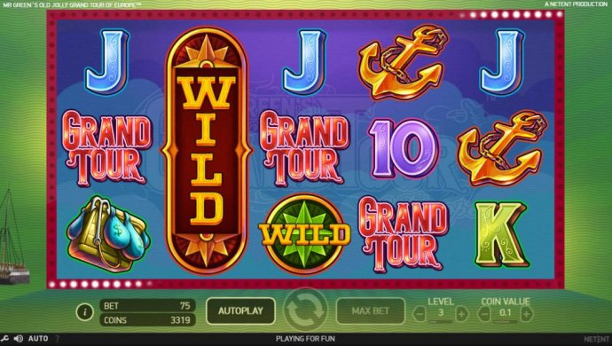 Mr. Green's Old Jolly Grand Tour of Europe by No Deposit Casino Guide