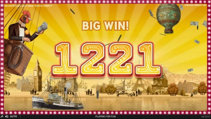 No Deposit Casino Guide - A pair of winning paylines leads to a 1221 coin big win.
