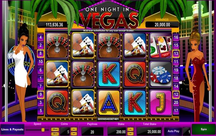 One Night in Vegas screenshot