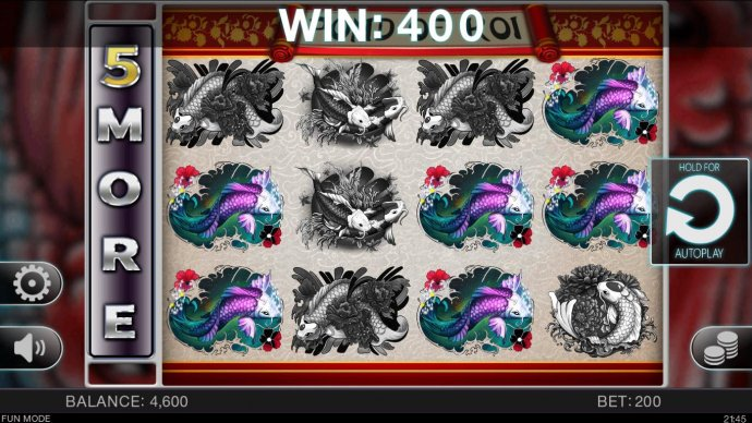 Pond of Koi by No Deposit Casino Guide