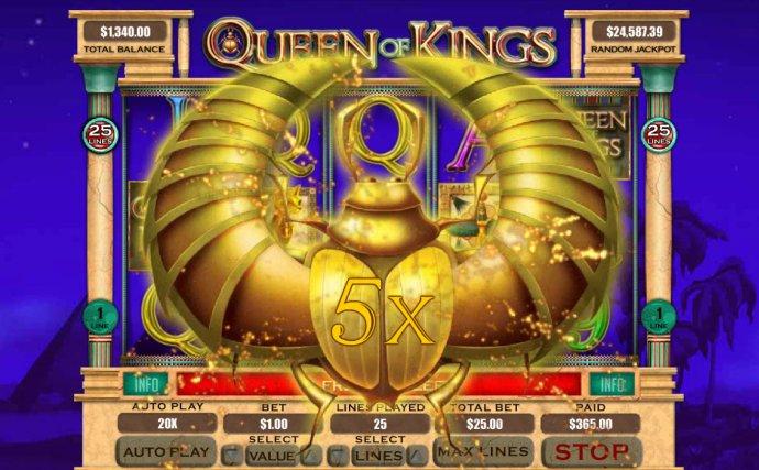 No Deposit Casino Guide - 5x multiplier awarded