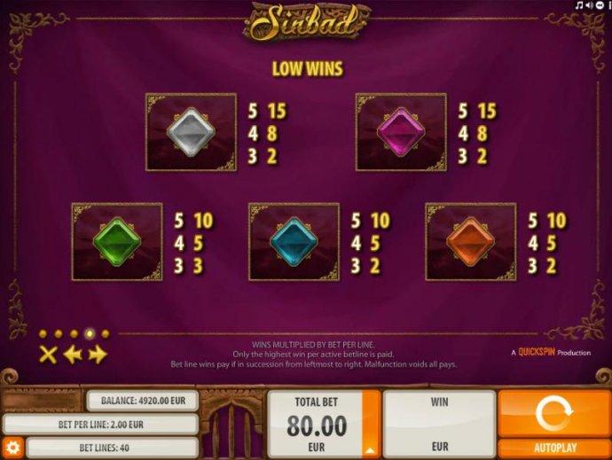 No Deposit Casino Guide image of Sinbad