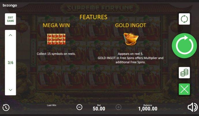Supreme Fortune screenshot