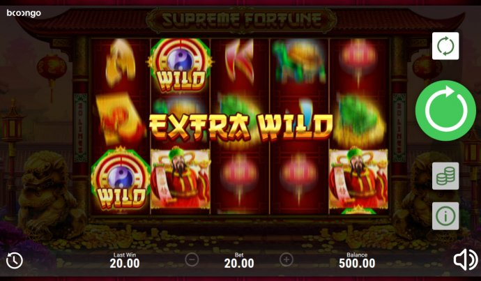 No Deposit Casino Guide image of Supreme Fortune