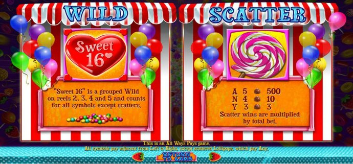 Sweet 16 by No Deposit Casino Guide