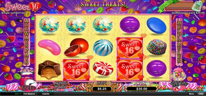 No Deposit Casino Guide image of Sweet 16