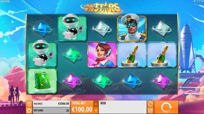 Ticket to the Stars screenshot