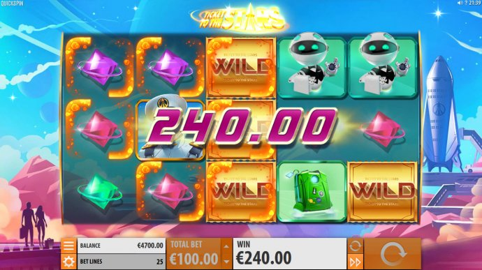 Ticket to the Stars by No Deposit Casino Guide