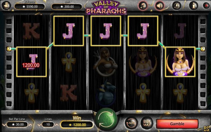 No Deposit Casino Guide image of Valley of Pharaohs