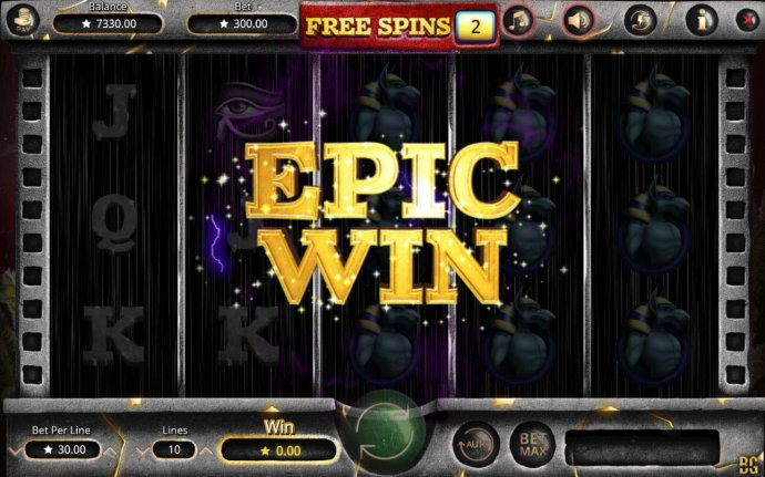 An epic win triggered - No Deposit Casino Guide