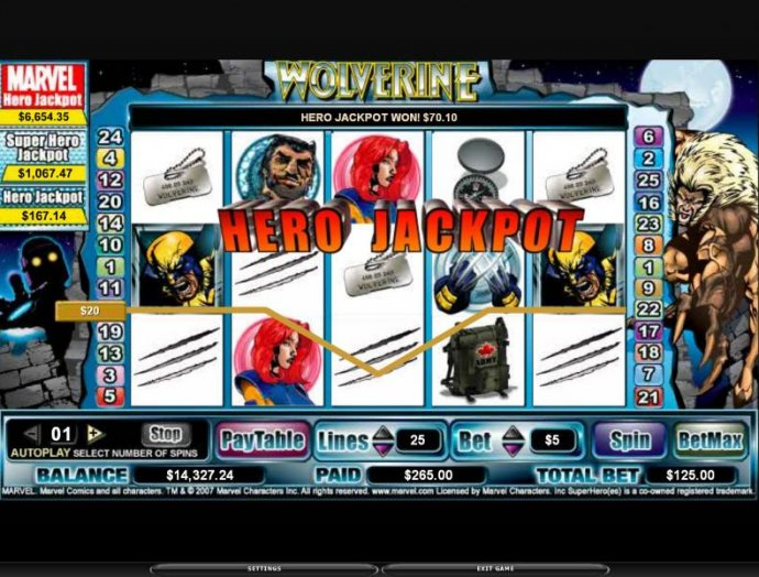 Wolverine by No Deposit Casino Guide