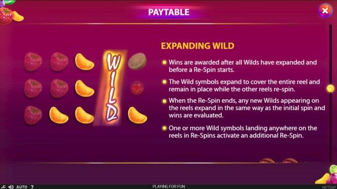 Expanding Wild - No Deposit Casino Guide