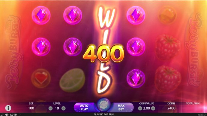 Stacked wilds triggers a big win - No Deposit Casino Guide