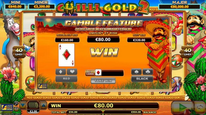 Chilli Gold x2 screenshot