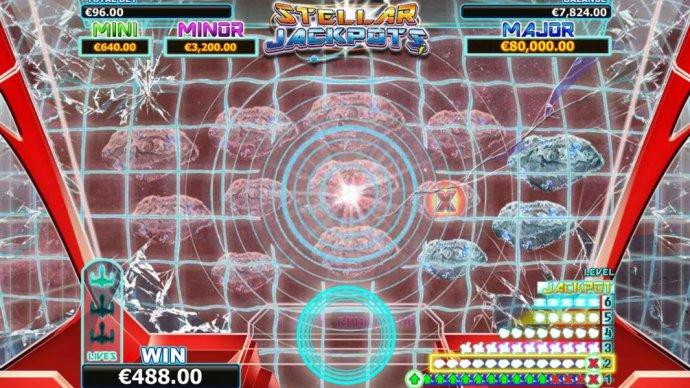 Stellar Jackpots level 2 gameboard - No Deposit Casino Guide