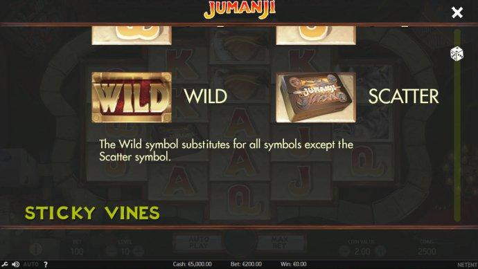 No Deposit Casino Guide image of Jumanji