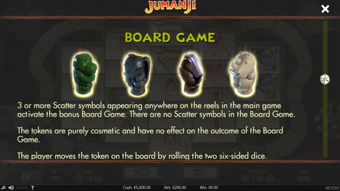 No Deposit Casino Guide image of Jumanji