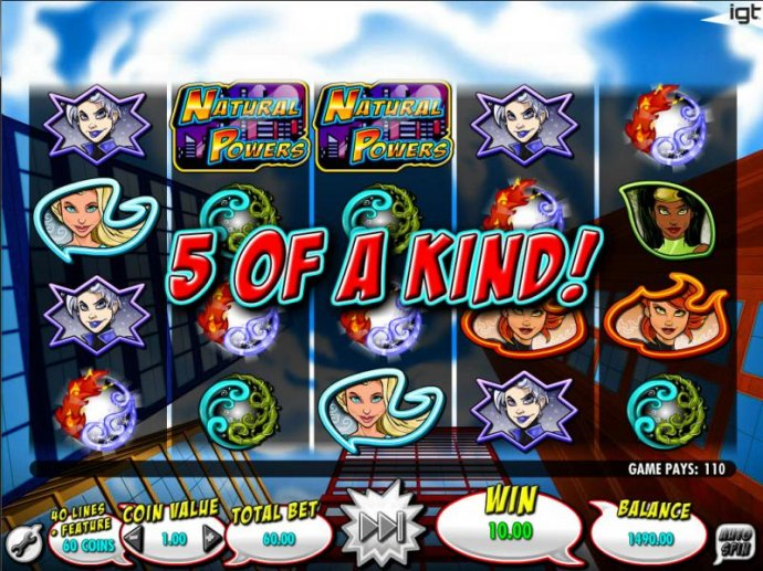 No Deposit Casino Guide image of Natural Powers