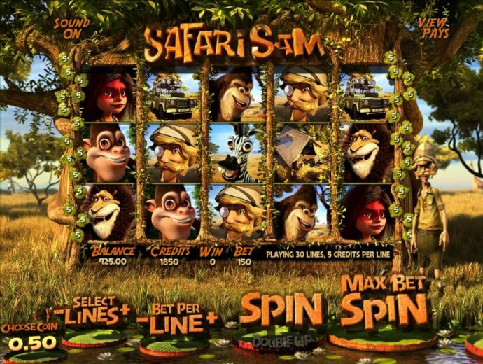 Safari Sam by No Deposit Casino Guide