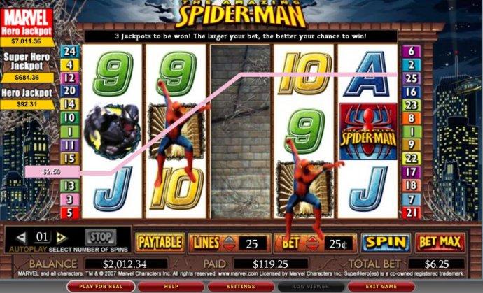 No Deposit Casino Guide image of Spider-man