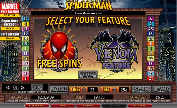 Spider-man by No Deposit Casino Guide