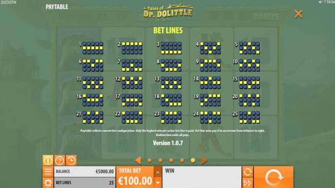 No Deposit Casino Guide image of Tales of Dr. Dolittle