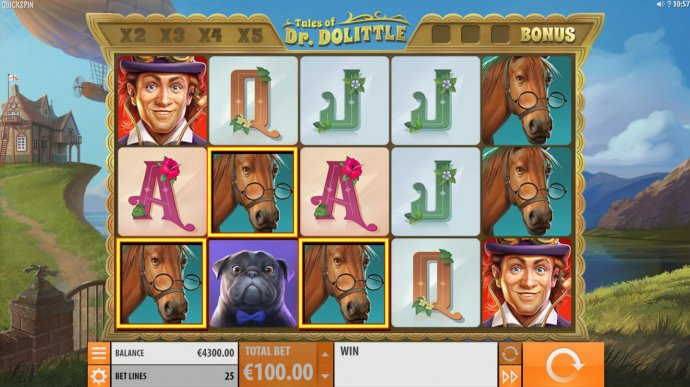 Tales of Dr. Dolittle by No Deposit Casino Guide