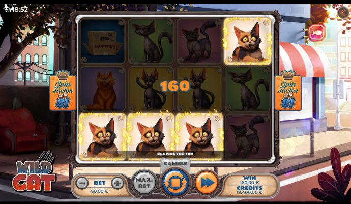 Wild Cat by No Deposit Casino Guide