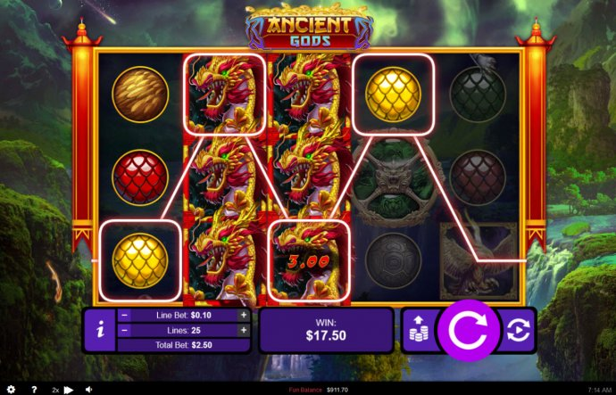 Ancient Gods by No Deposit Casino Guide