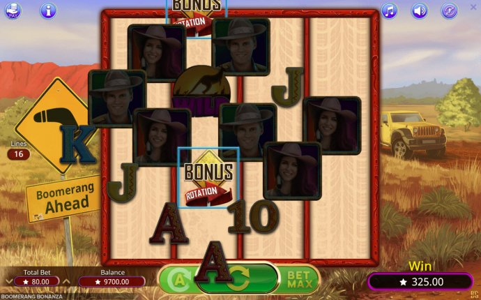 No Deposit Casino Guide image of Boomerang Bonanza