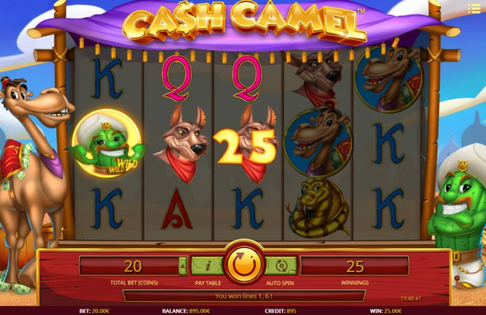 Cash Camel by No Deposit Casino Guide