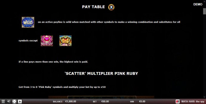 Wild and Scatter Rules by No Deposit Casino Guide