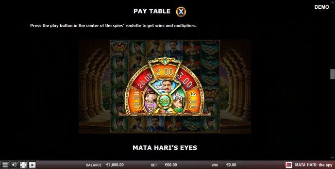 Mata Hari The Spy screenshot