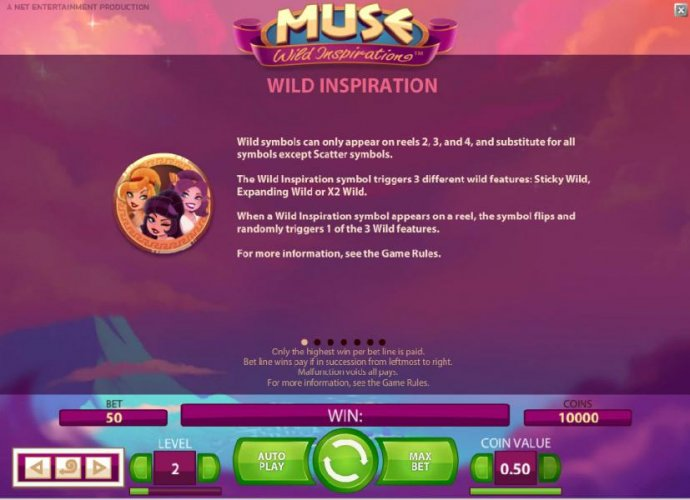No Deposit Casino Guide image of Muse