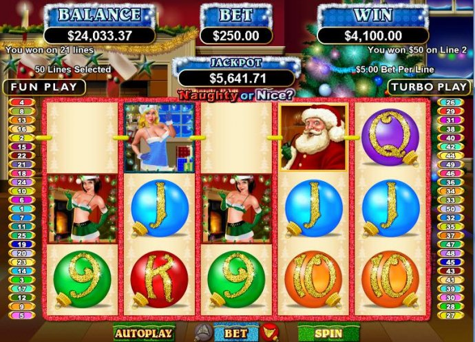 Naughty or Nice? by No Deposit Casino Guide