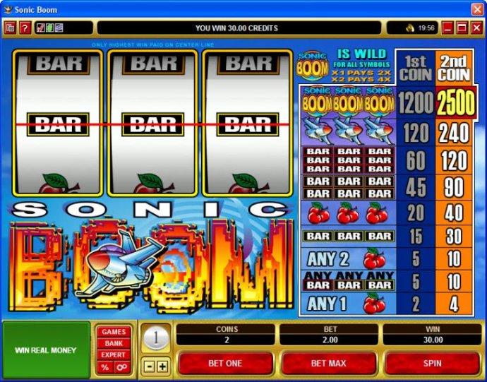 Sonic Boom by No Deposit Casino Guide